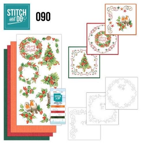 Stitch and Do 90 - Merry Christmas.
