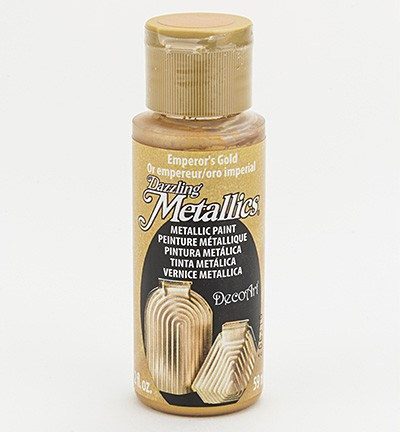 ***Americana metallics Finish - Emperor`s Gold.