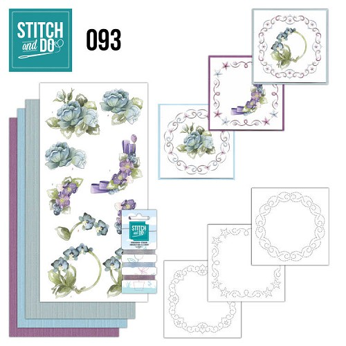 Stitch and Do 93 - Winterflowers.