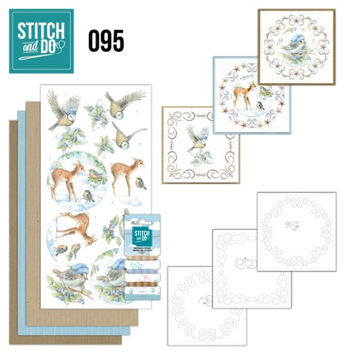 Stitch and Do 95 - Winter Woodland.