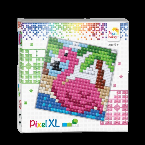 Pixelhobby XL set - Flamingo.
