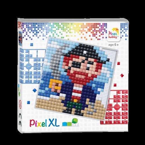 Pixelhobby XL set - Piraat.