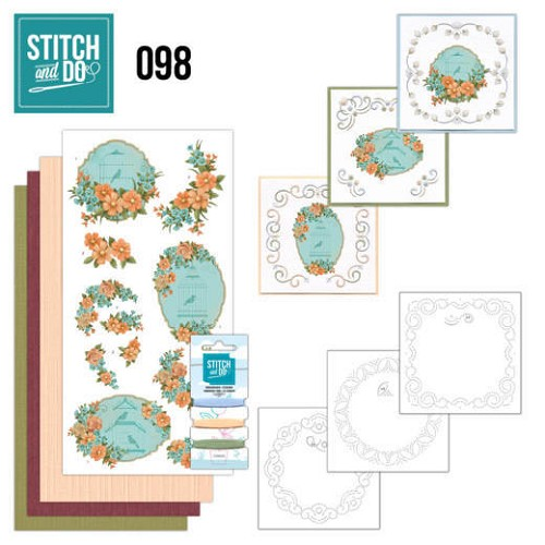 Stitch and Do 98 Floral Birdcages.