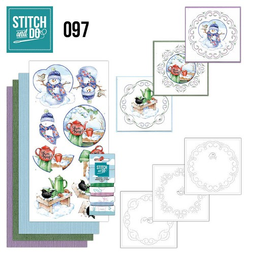 Stitch and Do 97 - Warm Winter.