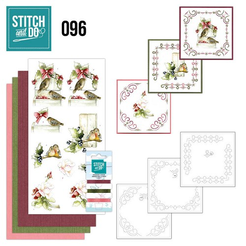 Stitch and Do 96 - Winter Birds.