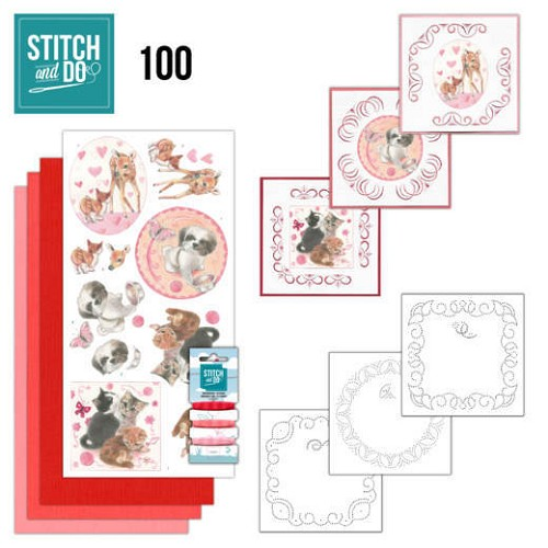 Stitch and Do 100 Playful Pets.