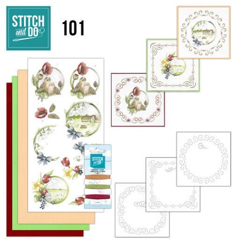 Stitch and Do 101 Spring life.