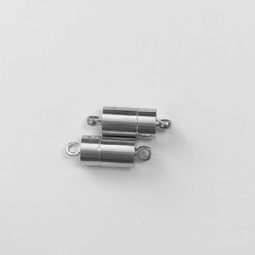 Magnetic clasp (super power), 12 mm, 2pcs/blister card.
