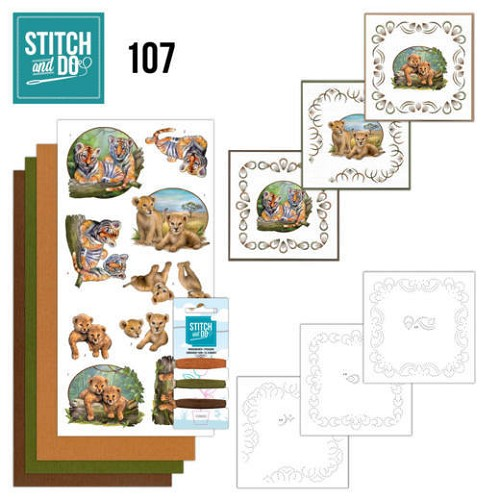 Stitch and Do 107 Wild Animals.