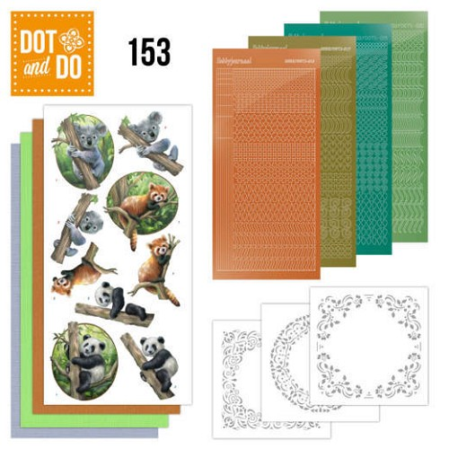Dot and Do 153 Wild Animals.