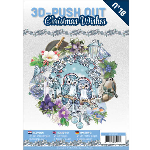 3D Pushout Book 18 Christmas Wishes.