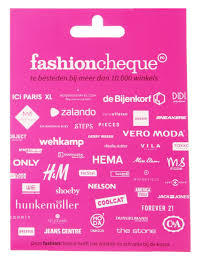 FashionCheque Roze ( 10,- t/m 150,-)
