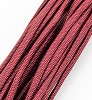 Paracord bordeaux. 5 meter.