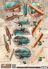 3D Knipvel - Amy Design - Vintage Vehicles - Planes