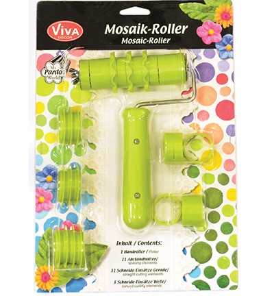 ***Patchy mosaik roller.