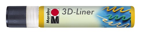 3D Liner 25 ML - Middengeel.