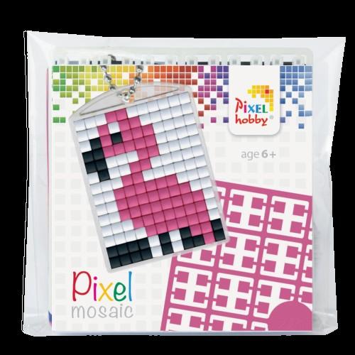 Pixelhobby Sleutelhanger Flamingo Het Kralendorp Goedkope Kralen