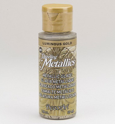 ***Americana metallics Glaze - Luminous Gold.